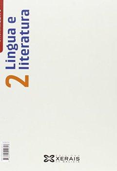 Portada del libro deLingua e literatura 2º Bacharelato (2016) (Libros De Texto - Bacharelato - Lingua Galega) - 9788491210313