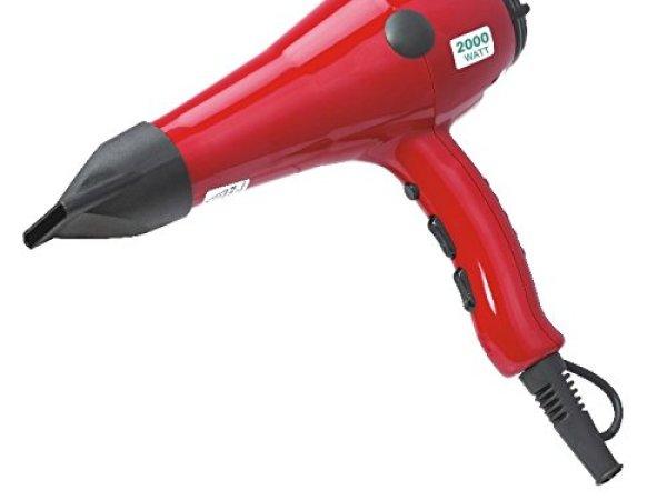 Ozomax Air King Hair Dryer (Black/Red)