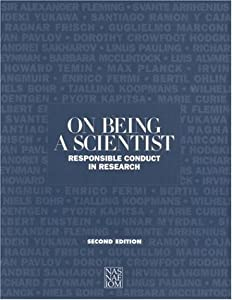 "Cover of ""On Being a Scientist"""