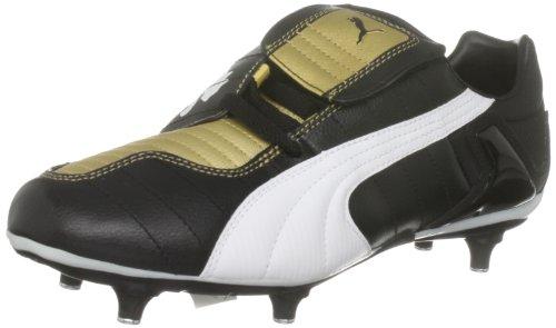 Puma V-Kon III SG Herren Fußball-Schuhe - Schwarz-Gold - Gr. 44