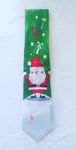 Light Up Christmas Holiday Neck Tie – Santa