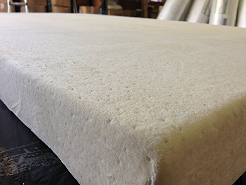 """SoftHeaven Topper Cover All Around Zipper Non Skid Bottom Hypoallergenic Bed Bug Dust Mite Luxury Jacquard Velour Fabric Cover for 2"""", 3"""", or 4"""" thick Memory Foam Latex Mattress Pad, Queen, 60"""" L x 80"""" W"""