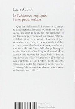 Livres Couvertures de La Résistance expliquée à mes petits-enfants