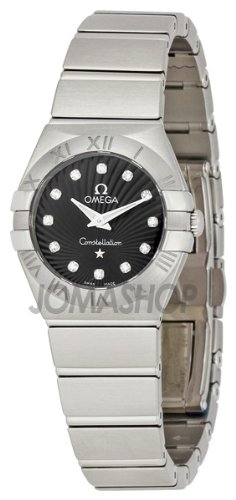 Omega Constellation Brushed Quartz 123.10.24.60.51.001