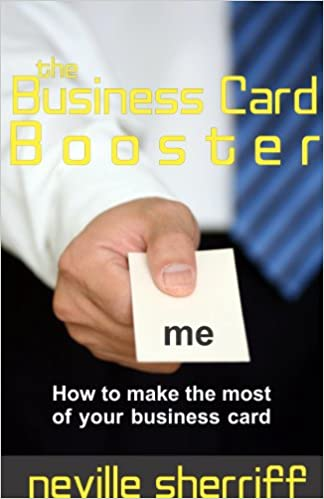 Making themost of your business card