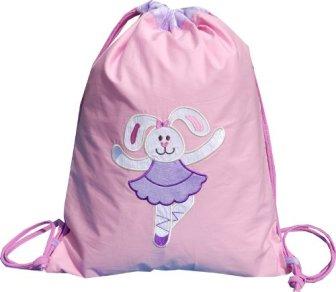 Little Pipal Ballerina Drawstring Bag - Toddler