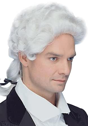 peter alan 5036 adult male colonial wig clothing accessories