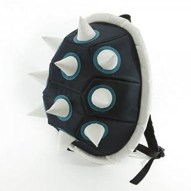 Blue Spike Shell Backpack Bookbag