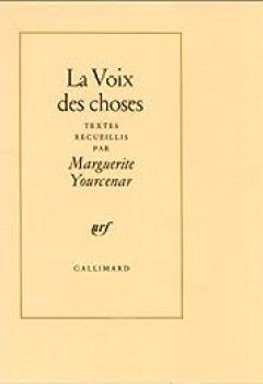 Livres Couvertures de La Voix Des Choses