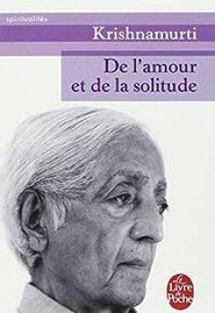 Livres Couvertures de De L'amour Et De La Solitude