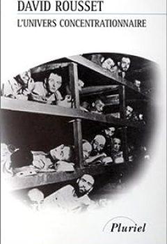 Livres Couvertures de L'univers Concentrationnaire