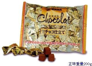 タカオカ食品 200g ショコラ生チョコ仕立て 20袋入