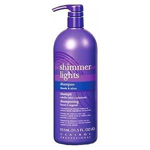 clairol blue shimmer lights shampoo 32 oz purple shampoo