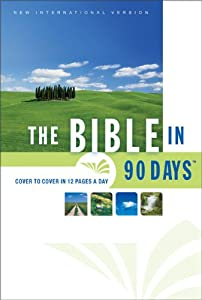 "Cover of ""The Bible in 90 Days: Cover to ..."