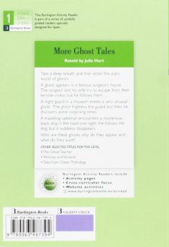 Portada del libro deMORE GHOST TALES ESO1 ACTIVITY