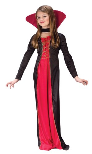 Victorian Vampiress Child Costume (Medium)