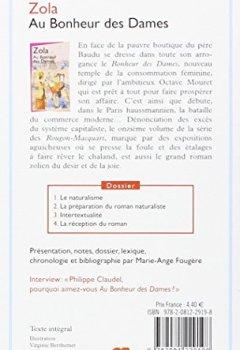 Livres Couvertures de Au Bonheur des Dames