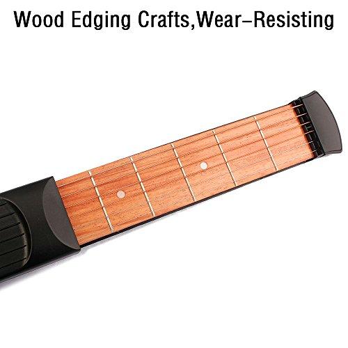 COWEEN-Portable-Pocket-Guitar-6-Fret-Model-Wooden-Practice-6-Strings-Guitar-Trainer-Tool-Gadget-for-Beginners
