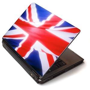 stickers pc avec drapeau anglais deco londres