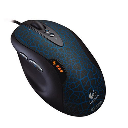 Logitech G5 Laser Mouse (Blue/Black)