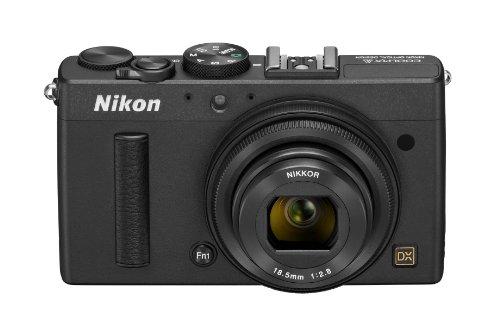 Nikon デジタルカメラ COOLPIX A DXフォーマットCMOSセンサー搭載 18.5mm f/2.8 NIKKORレンズ搭載 ABK ブラック