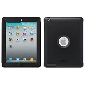 OtterBox Defender Series Case with Screen Protector and Stand for the New iPad (4th Generation), iPad 2 and 3 - Black