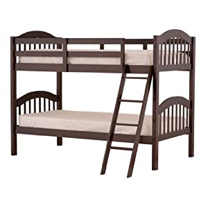 Stork Craft Long Horn Bunk Bed, Espresso