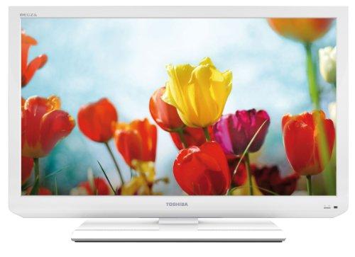 Toshiba 32EL834G 80 cm (32 Zoll) LED-Backlight-Fernseher, Energieeffizienzklasse B (HD-Ready, 100 HZ AMR, DVB-T/-C, CI+) weiß