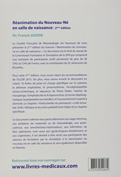 Livres Couvertures de Réanimation du nouveau-né en salle de naissance : Support pédagogique