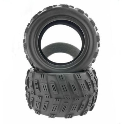 Iron-Track-Atomik-RC-Tire-Set-with-Foam-Insert-for-Iron-Track-Raider-RC-Monster-Truck-Vehicle-2-Piece-parallel-import-goods