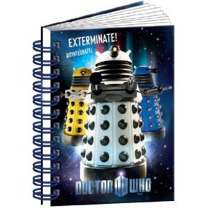Dr Who A6 Notebook