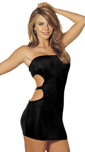 Slinky Open Back Dress - Schlauch Minikleid mit offenem Rücken von Shirley of Hollywood