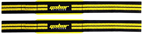 Gabor Fitness Heavy Duty Work Out Weightlifting Straps