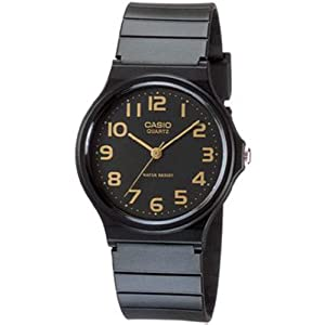 Casio Men's MQ24-1B2 Analog Watch