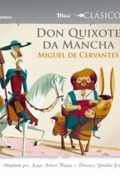 Portada del libro deDon Quixote da Mancha (Minisclásicos)
