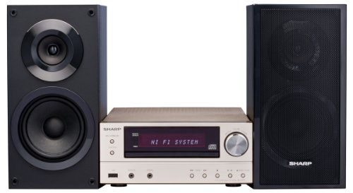 Sharp XL-E171DVH Hifi Heimkinosystem (HDMI, Upscaler 1080p, DVD/CD-MP3 Player, 60 Watt, USB 2.0)