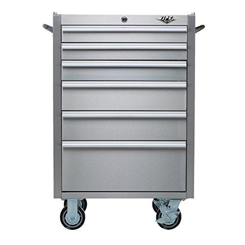 Viper Tool Storage V2606SSR 26 Inch 6 Drawer 304 Stainless