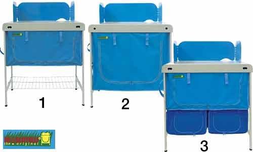 Camping Küchenschrank Stahl 80 cm halb - INNOVATIONEN MADE in GERMANY - Holly® Produkte STABIELO -