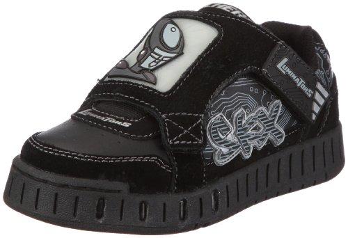 Skechers Megaton 90380L BLK, Jungen Sneaker, Schwarz (BLK), EU 30