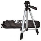 Aluminum-Alloy-Vivitar-VIV-VPT-1250-Tripods-for-Digital-Camera-Silver
