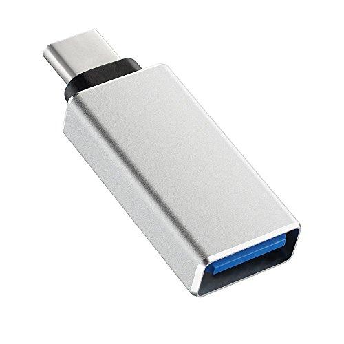 Patech USB-C  USB 3.0 変換アダプタ Type-Cアダプタ 変換コネクタ USBケーブル 裏表関係なく挿せる 高速転送可能 Apple New Macbook /Chromebook Pixel/MSI mainboard Z79用