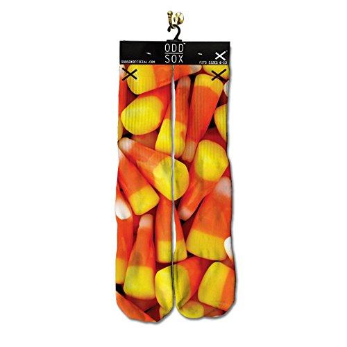 Odd Sox Men's Corn Socks Mulit-Color