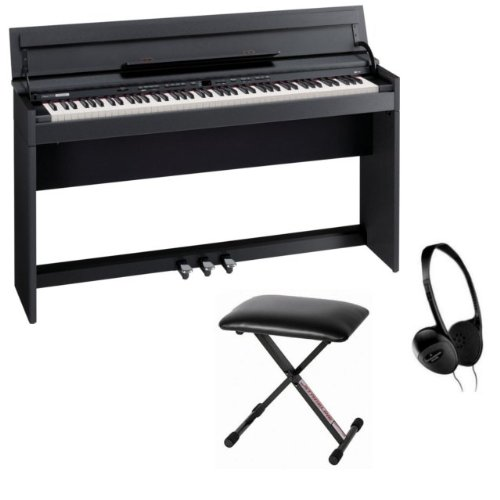 Roland DP-990F Digital Piano Bundle - Complete with Bench and Headphones