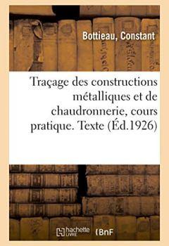 GRATUIT TRACAGE TÉLÉCHARGER PDF LIVRE CHAUDRONNERIE