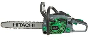 Hitachi CS33EB/16 16-Inch 32.2cc PureFire 2-Stroke Gas-Powered Chain Saw