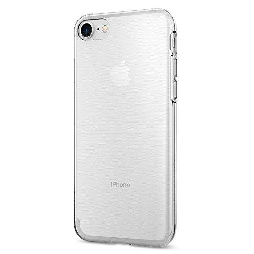 【Spigen】 iPhone7ケース, リキッド・クリスタル [ クリア 超薄型 超軽量 ] アイフォン 7 用 カバー (iPhone7, クリスタル・クリア)