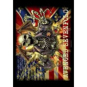 Avenged Sevenfold Confederate Cloth Fabric Poster Flag