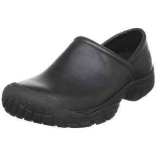 KEEN Utility Men's PTC Slip On Work Shoe,Black,11 M US