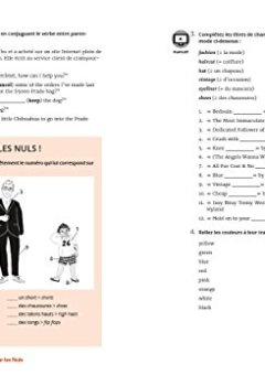 Livres Couvertures de Cahier d'exercices anglais débutant/faux débutant pour les Nuls grand format