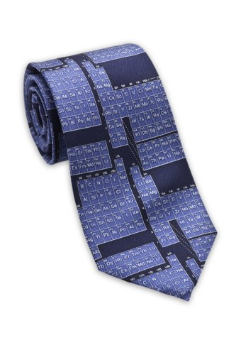 Periodic Table / Science - Men's Silk Necktie